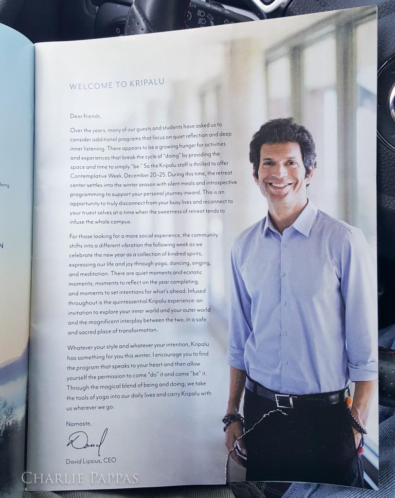 David Lipsius, Kripalu CEO