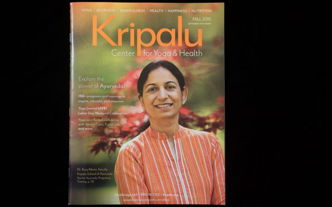 Cover Shot – Kripalu Fall 2016