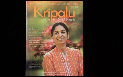 Cover Shot – Kripalu Fall 2016