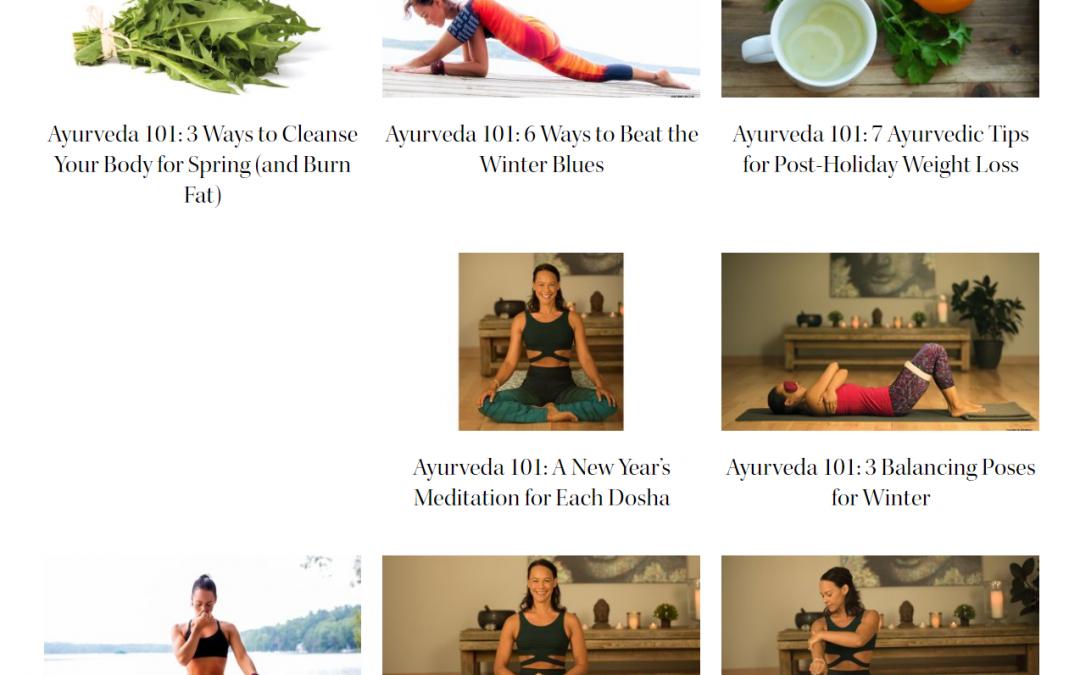 Larissa Hall Carson for Yoga Journal Magazine